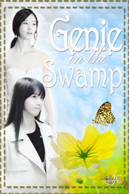 genie in the swamp poster